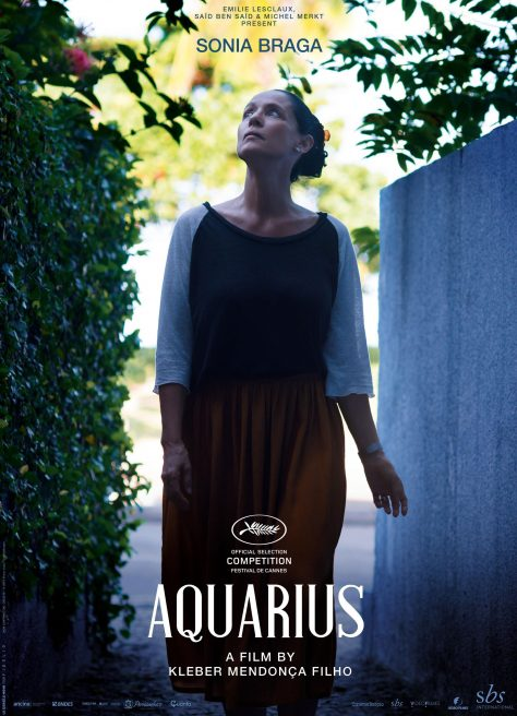 Aquarius - Affiche Cannes 2016