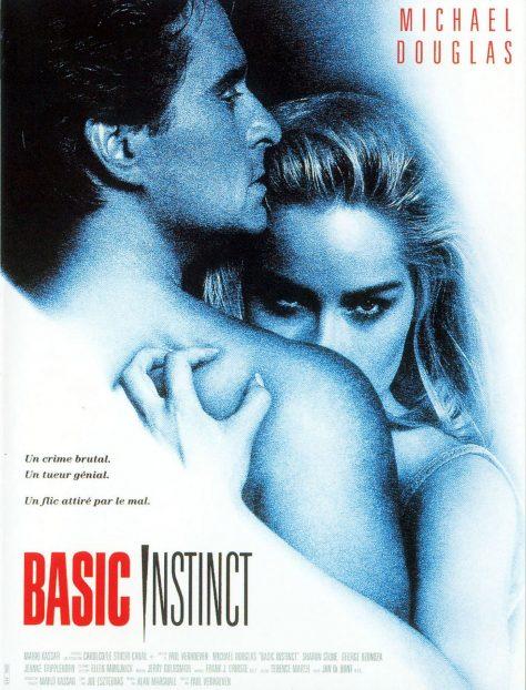 Basic Instinct de Paul Verhoeven - Affiche FR