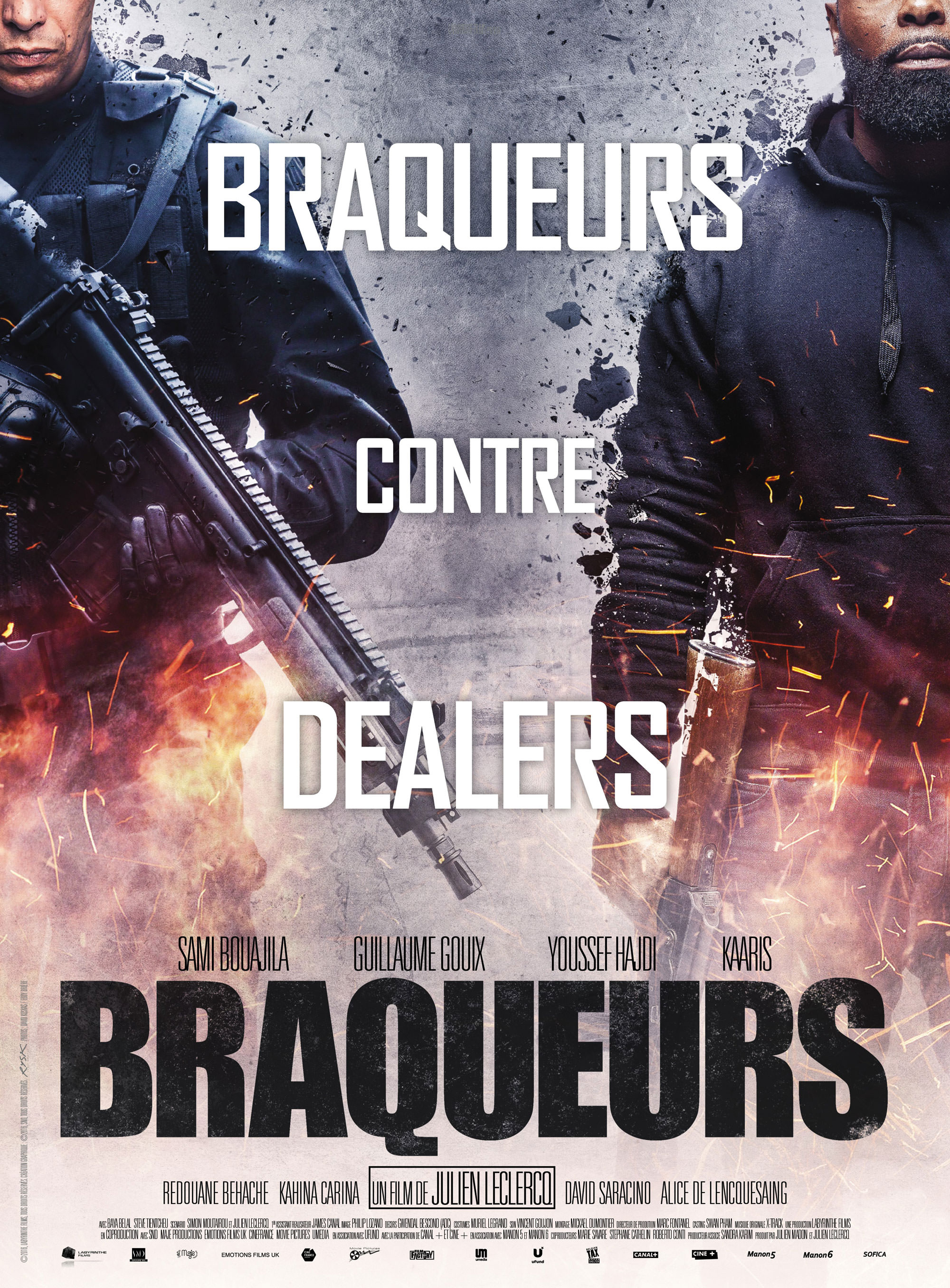 Braqueurs - Affiche