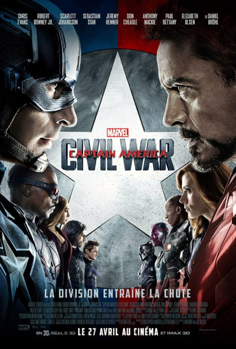 Captain America : Civil War - Affiche