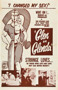 Glen or Glenda - Ed Wood - Affiche