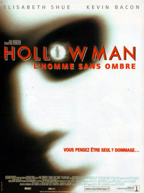 Hollow Man - L'Homme sans ombre de Paul Verhoeven - Affiche France