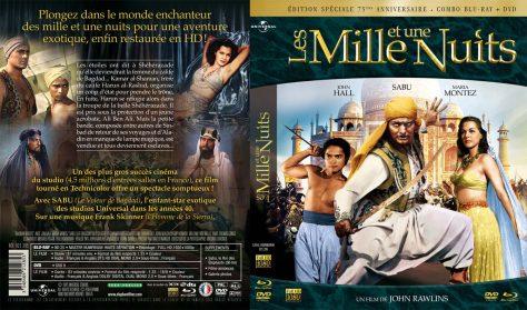Jaquette Blu-ray + DVD Les Milles et une nuit - Jeu concours Sabu