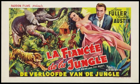 La Fiancée de la jungle (The Bride and the Beast) - Ed Wood