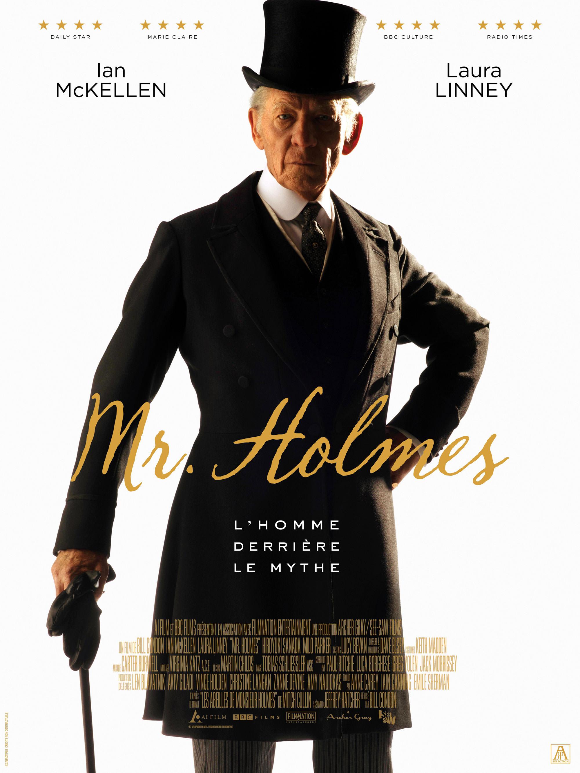 Mr. Holmes - Affiche