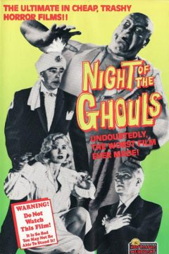 Night of the Ghouls - Affiche
