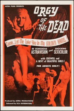 Orgy of the Dead - Affiche