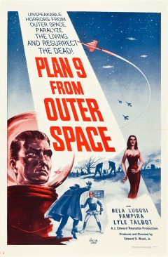 Plan 9 From Outer Space - Affiche