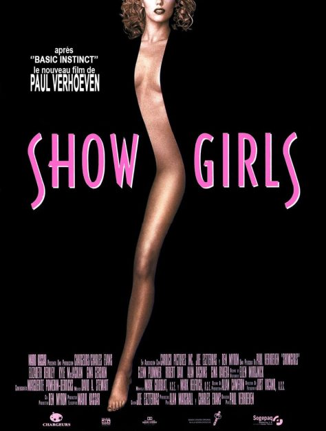 Showgirls de Paul Verhoeven - Affiche France