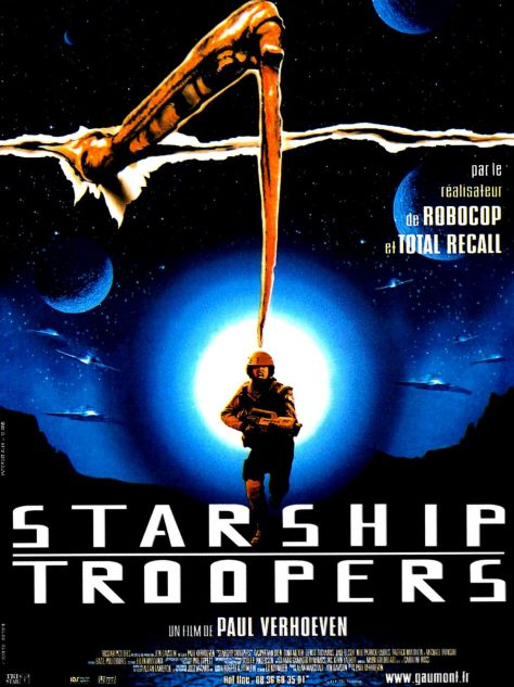 Starship Troopers de Paul Verhoeven - Affiche France