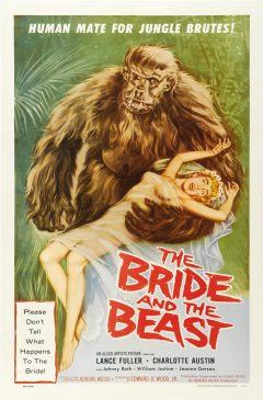 The Bride and the Beast - Affiche US