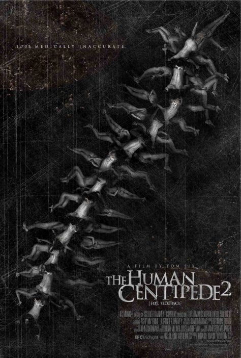 The Human Centipede 2 - Affiche
