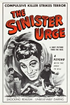 The Sinister Urge - Affiche