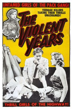 The Violent years - Affiche - Coffret Ed Wood