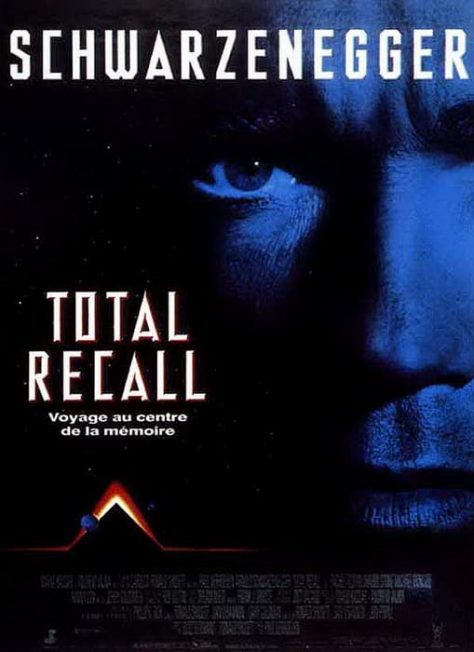 Total Recall de Paul Verhoeven - Affiche France
