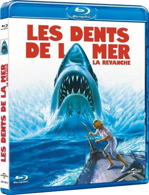 Les Dents de la mer 4 - La revanche - Packshot Blu-ray