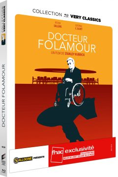 Docteur Folamour - Jaquette Blu-ray Very Classics