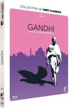 Gandhi - Jaquette Blu-ray Very Classics
