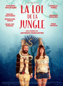 La Loi de la jungle - Affiche