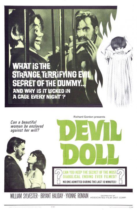 La Poupée diabolique - Affiche 1964