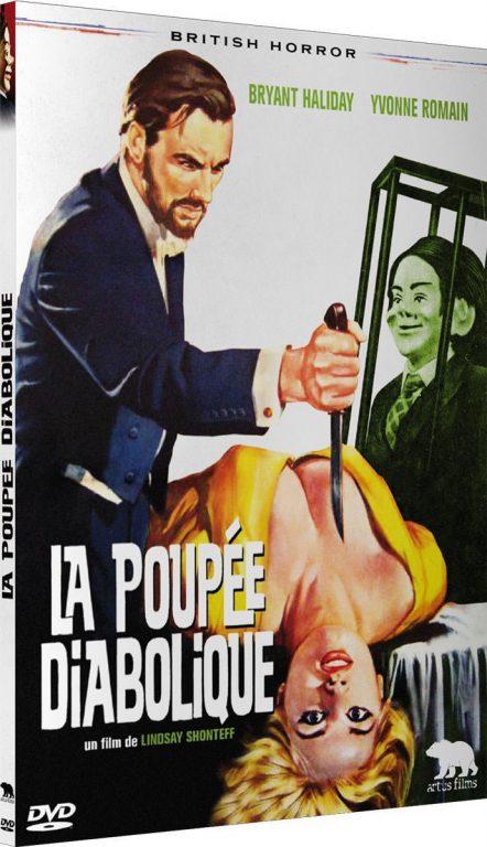 La Poupée diabolique - Recto DVD