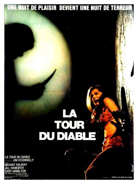 La Tour du diable - Affiche France