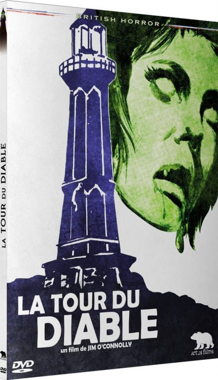 La Tour du diable - Recto DVD
