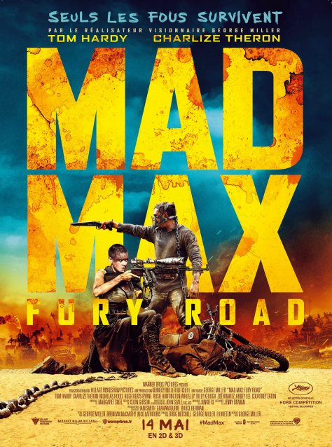 Mad Max Fury Road - Affiche France
