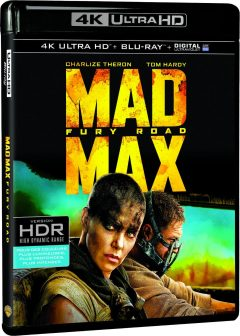 Mad Max Fury Road – Packshot Blu-ray 4K Ultra HD