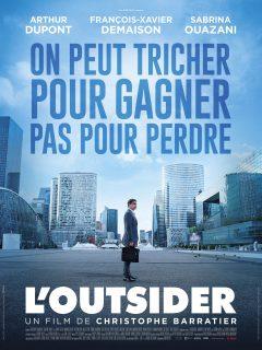 L'Outsider - Affiche (Film 2016 : Affaire Jérôme Kerviel)