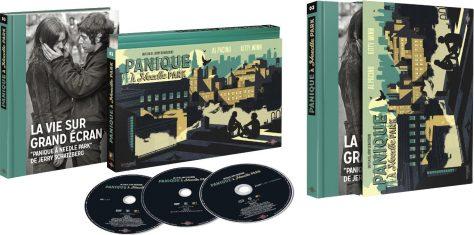 Panique à Needle Park - Coffret Ultra Collector n°3 - Blu-ray + DVD + Livre
