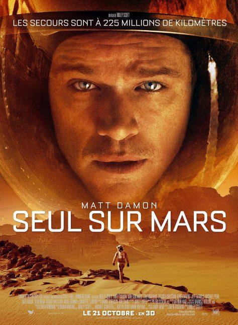 Seul sur Mars - Affiche France