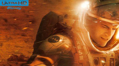 Test Blu-ray 4K Ultra HD: Seul sur Mars