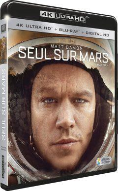 Seul sur Mars – Packshot Blu-ray 4K Ultra HD