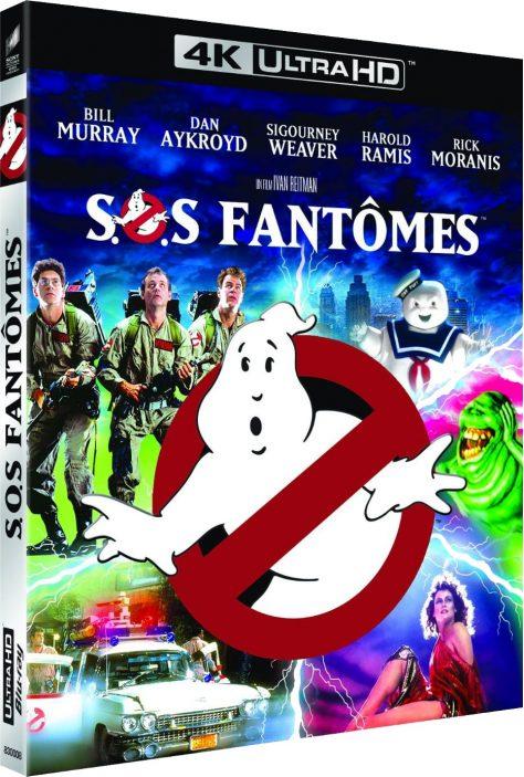 SOS Fantômes - Packshot Blu-ray 4K Ultra HD