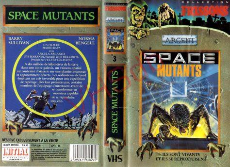 Space Mutants (La Planète des vampires) - Cover VHS