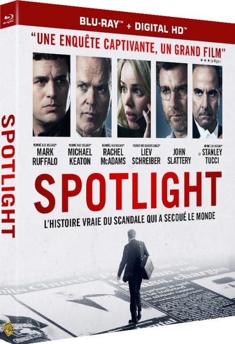 Spotlight - Packshot Blu-ray