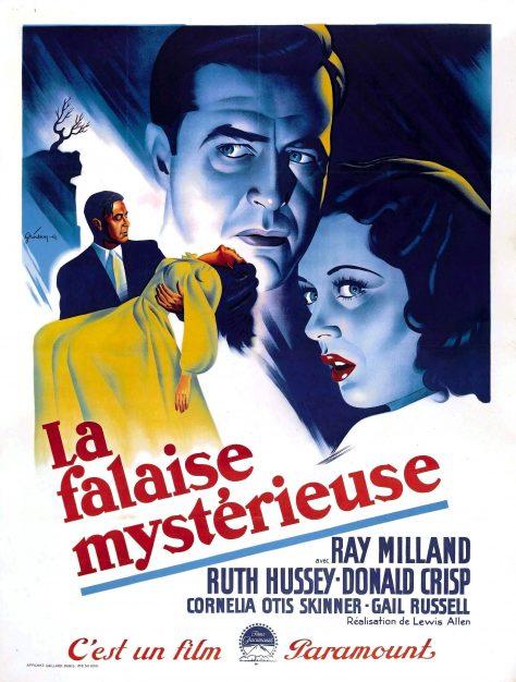 La Falaise mystérieuse (The Uninvited) - Affiche