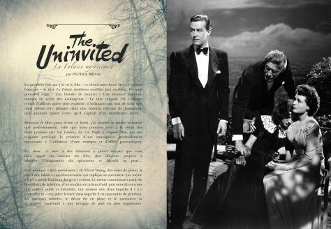 The Uninvited - Double page livret Blu-ray