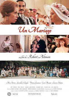 Un mariage - Affiche 2016