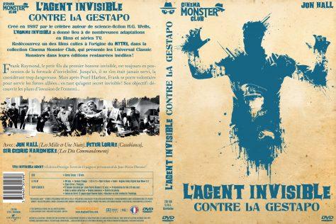Agent invisible contre Gestapo - jaquette DVD recto verso