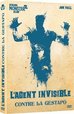 Agent invisible contre Gestapo - Recto DVD