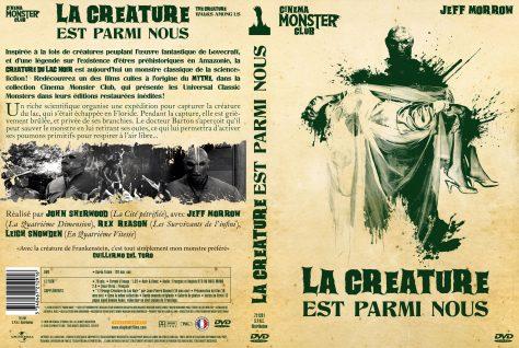 La Créature est parmi nous - Jaquette DVD recto verso