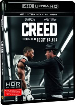 Creed - L'héritage de Rocky Balboa - Packshot Blu-ray 4K Ultra HD
