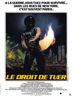 The Exterminator - Affiche France