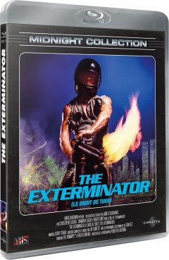 The Exterminator - Midnight Collection - Packshot Blu-ray