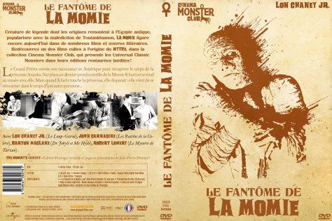 Le Fantôme de la Momie - Jaquette DVD recto verso