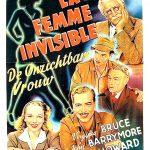 La Femme invisible - Affiche Belge