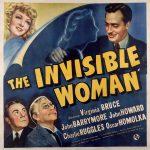 La Femme invisible - Affiche US