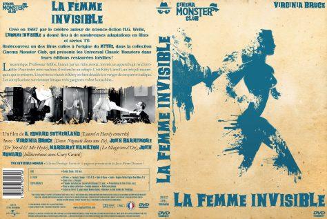 La Femme invisible - Jaquette DVD recto verso